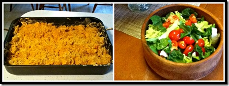 Buffalo Chicken Mac and Cheese Collage 2