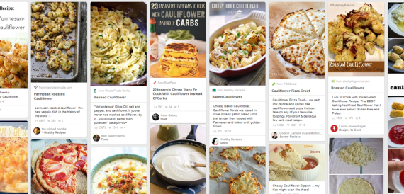 Pinterest is your friend when exploring new recipes.